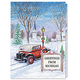 Antique Auto Christmas Card Set/20