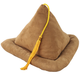 Tan Suede Book Pillow, One Size