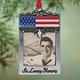 Patriotic In Loving Memory Photo Ornament