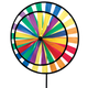 Rainbow Pinwheel Spinner, One Size