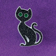 Black Cat Tac Pin