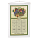 Personalized Antique Fruit Calendar Towel, One Size