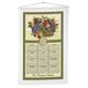 Personalized Antique Fruit Calendar Towel