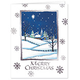 Bless Those We Love Chapel Personalized Christmas Cards - Se