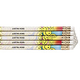 Personalized Smiley Face Pencils