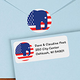 Elephant Political Label And Seal Value Set