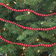 Wood Beaded Garland - 9 Feet