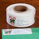 Candy Cane Return Address Labels - Set of 250