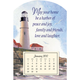 Mini Magnetic Lighthouse Calendar, One Size
