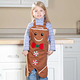 Personalized Kids Gingerbread Apron