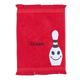 Personalized Bowling Towel - Smiling, One Size