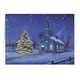 Country Church Christmas Card Set/20