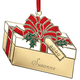 Personalized Brass Christmas Ornament, One Size