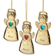 Personalized Angel with Heart Ornament, One Size