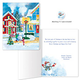 American Snowman Christmas Card Set of 20