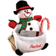 Personalized Snowman Money Gift Card Holder, One Size
