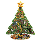 Christmas Tree Shaped Puzzle