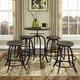 Collect Bar Stool Set of 4 in Brown