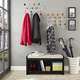 Colorful Modern Coat Rack with Coat Hooks - Multicolored Fun Coat Hanger
