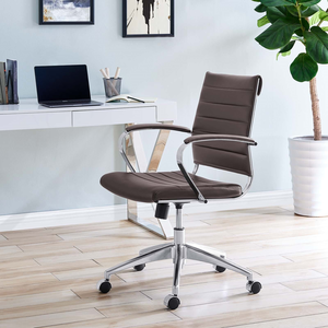 lexmod ribbed mid office. About: Jive Mid Back Office Chair In Brown - Modern Desk Lexmod Ribbed B
