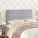 Clique King Headboard in Sky Gray