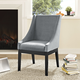 Tide Dining Upholstered Side Chair in Gray