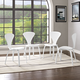 Vortex Dining Chairs Set of 4 in White