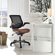 Edge Vinyl Office Chair in Tan