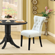 Silhouette Dining Chairs Set of 2 in White
