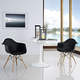 Pyramid Dining Armchair Set of 2 in Black