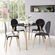 Field Dining Table in Black