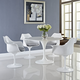 Lippa Dining Armchair Set of 4 in Gray