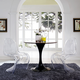 Slither Clear Dining Side Chairs Set of 2 in Clear