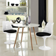 Lippa Dining Side Chair Set of 2 in Black