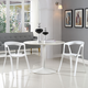 Tread Dining Set Set of 2 in White