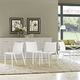 Gallant Dining Side Chair Set of 4 in White
