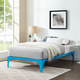 Lexmod Ollie Twin Bed Frame In White