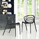 Locus Dining Set Set of 2 in Black