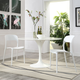Hop Dining Set Set of 2 in White