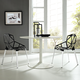 Connections Dining Chair Set of 2 in Black