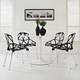 Connections Dining Chair Set of 4 in Black