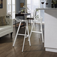 Launch Stacking Bar Stool Set of 2 in White