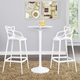 Entangled Bar Stool Set of 2 in White