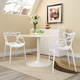 Entangled Dining Set Set of 2 in White