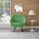 Allegory Armchair in Green