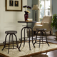 Collect Bar Stool Set of 2 in Brown