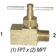 Needle Valve, 1/8in FPT x 1/8in MPT