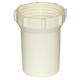 Strainer RVF66B White Bowl 1/2in & 3/4in