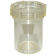 Strainer RVF66B Clear Bowl 1/2in & 3/4in