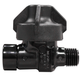 Check Valve 8360-1/4-NY-B 20lb Black Cap